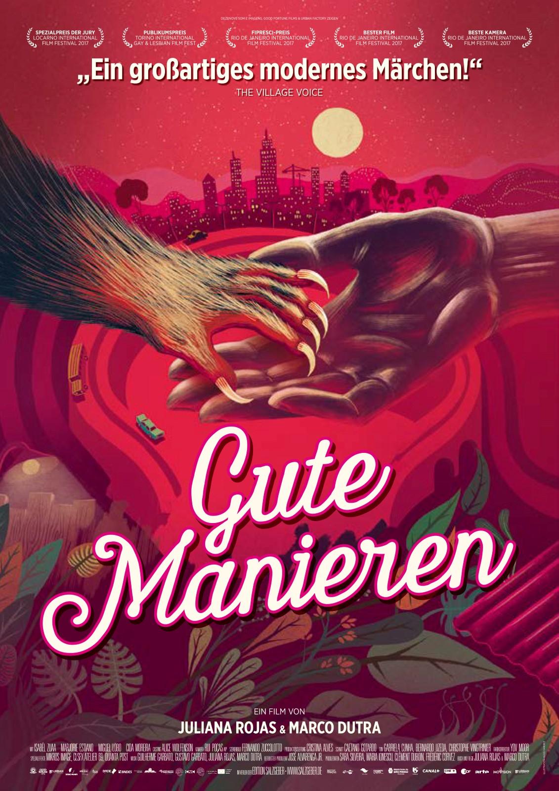 """""""Gute Manieren"""" gratis als Stream oder zum Herunterladen von Arte (Horror-Fantasy FSK 12)"""