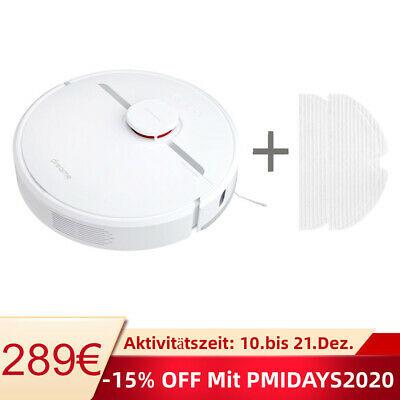 2020 Dreame D9 Saugroboter Staubsauger Kehrroboter Beutellos APP Weiß