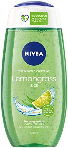 4x 250ml Nivea Pflegedusche Lemongrass & Oil