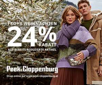 Peek & Cloppenburg: 24% Rabatt auf Sale-Artikel