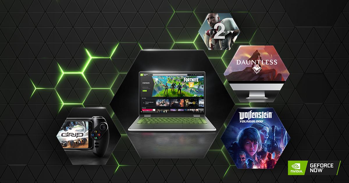 GeForce Cloud RTX Gaming