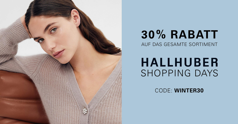 Hallhuber: 30% Rabatt auf ALLES inklusive Sale + gratis Versand + verlängerte Rückgabe