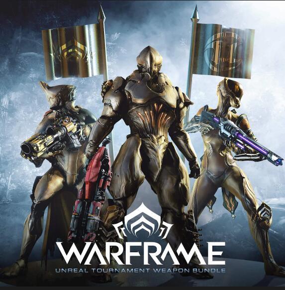 """Warframe + Unreal Tournament Weapon Bundle"" gratis im Epic Store (PC)"