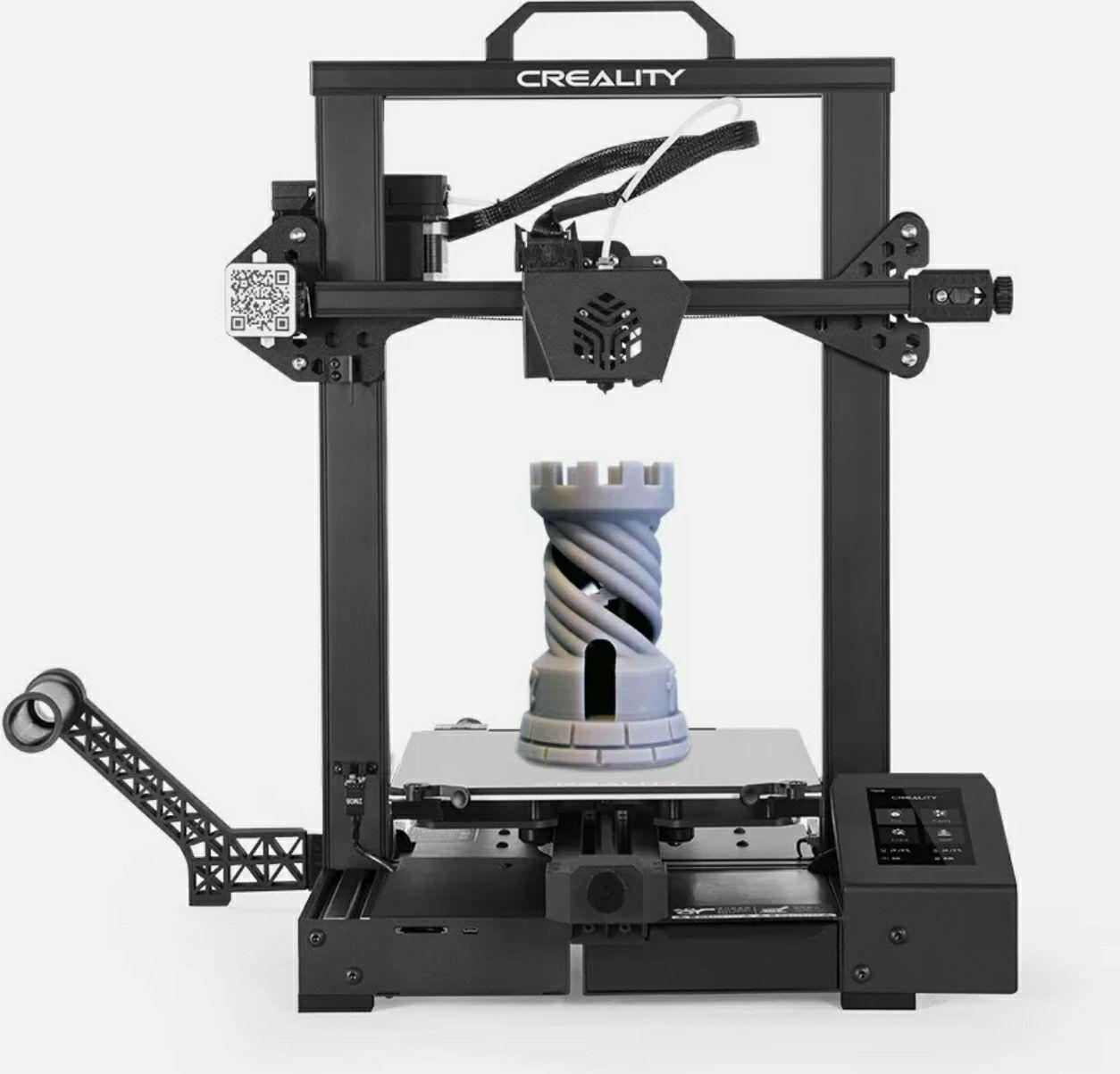 Creality 3D CR-6 SE 3D-Drucker DIY-Kit (Druckgröße 235 x 235 x 250 mm)
