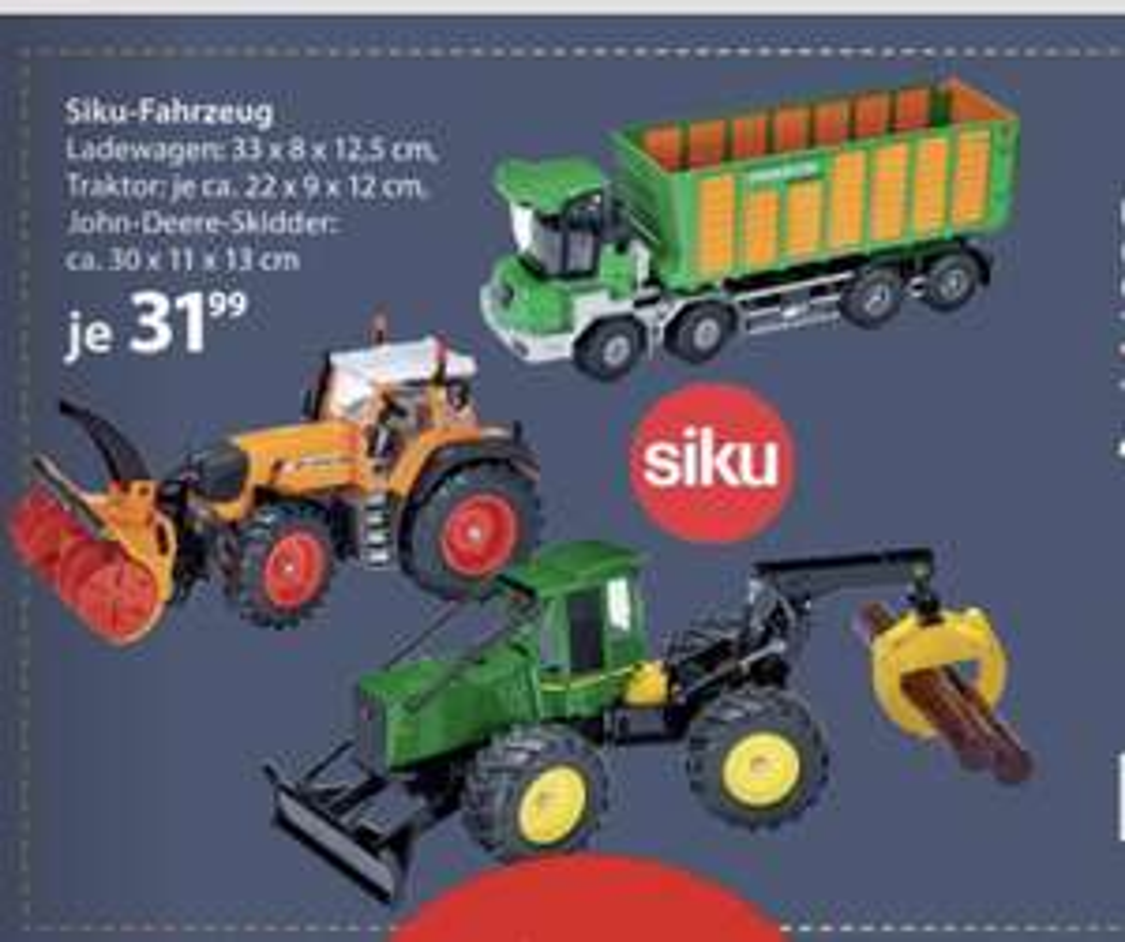 OFFLINE NKD Siku Traktor und LKW 1:32