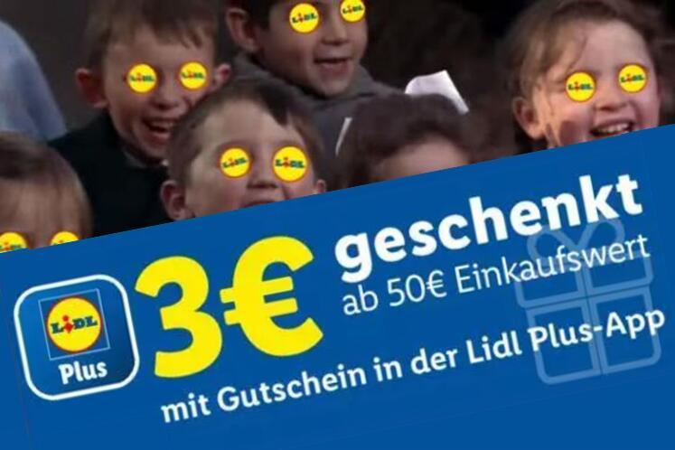 3 € geschenkt über die Lidl-Plus-App