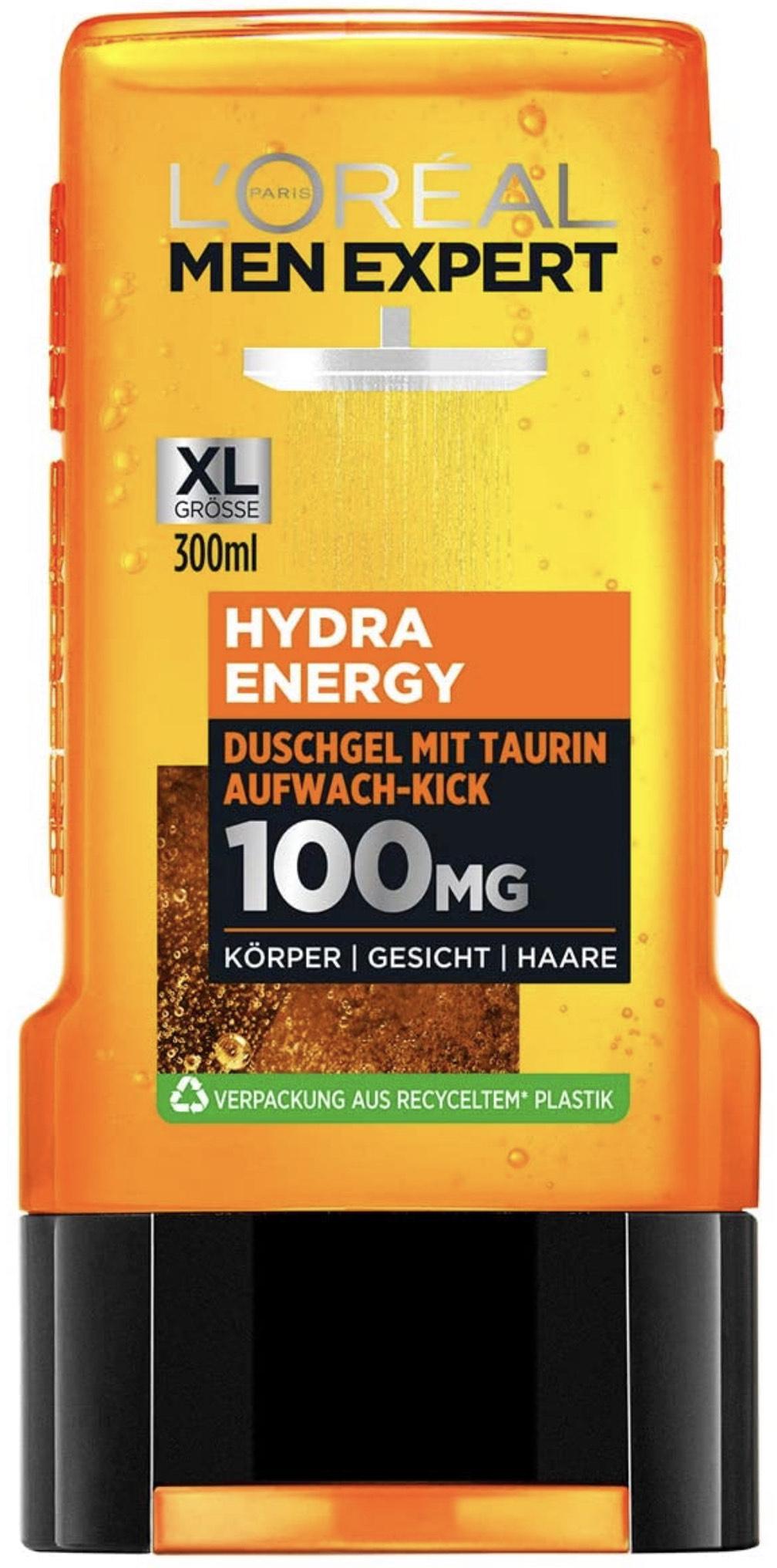 L'Oréal Men Expert Hydra Energy Taurin Duschgel bei Amazon