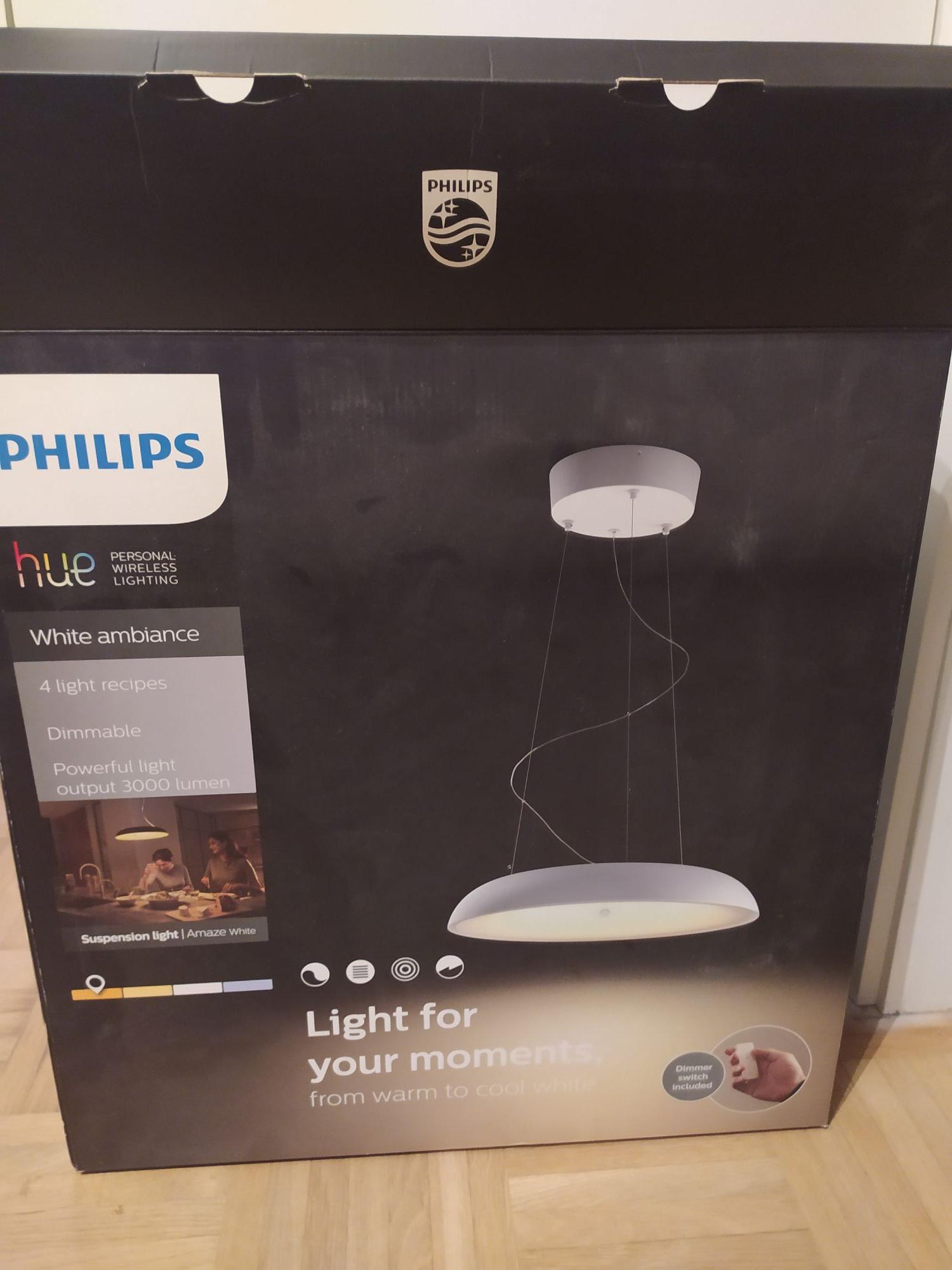 Philips Hue White Ambiance Amaze Pendelleuchte weiß - lokales Angebot: OBI Graz Nord