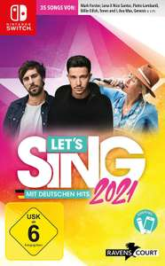 Let's Sing 2021 mit deutschen Hits + 2 Mics - [Nintendo Switch/Playstation 4]