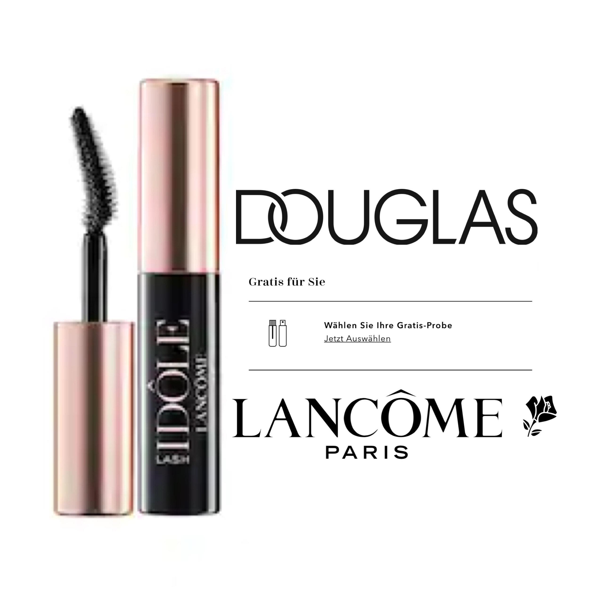 [ Douglas ] Lancôme Lash Idôle Mascara Miniatur für 0,30€ + Gratis Versand*