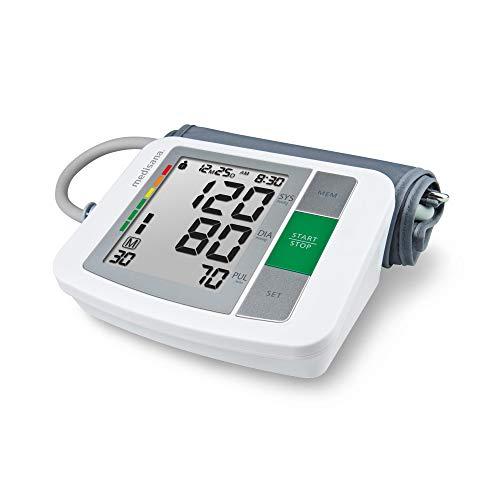 Medisana BU 510 Oberarm-Blutdruckmessgerät ohne Kabel, Arrhythmie-Anzeige für präzise Blutdruckmessung und Pulsmessung mit Speicherfunktion