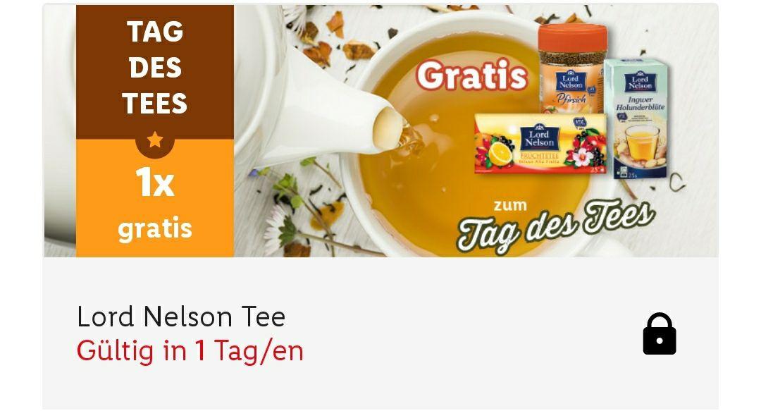 "[Lidl] Tee ""Lord Nelson"" gratis in der App"