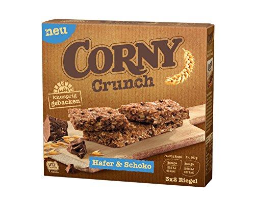 54Stk. (9x6Stk.) Corny Crunch Hafer & Schoko
