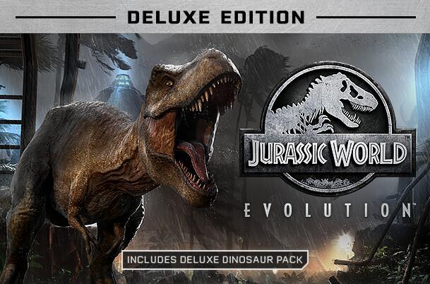Jurassic World Evolution Deluxe Edition (Windows PC) auf Steam zum bisherigen Bestpreis
