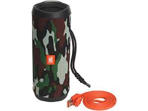 Jbl Flip4 tragbares Audiosystem Camouflage