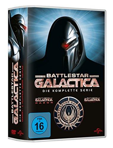 Battlestar Galactica - Die komplette Serie (25 Discs, DVD)