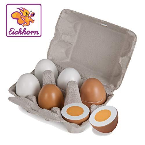 Preisjäger Junior: Eichhorn Eier Box mit 6 Eiern
