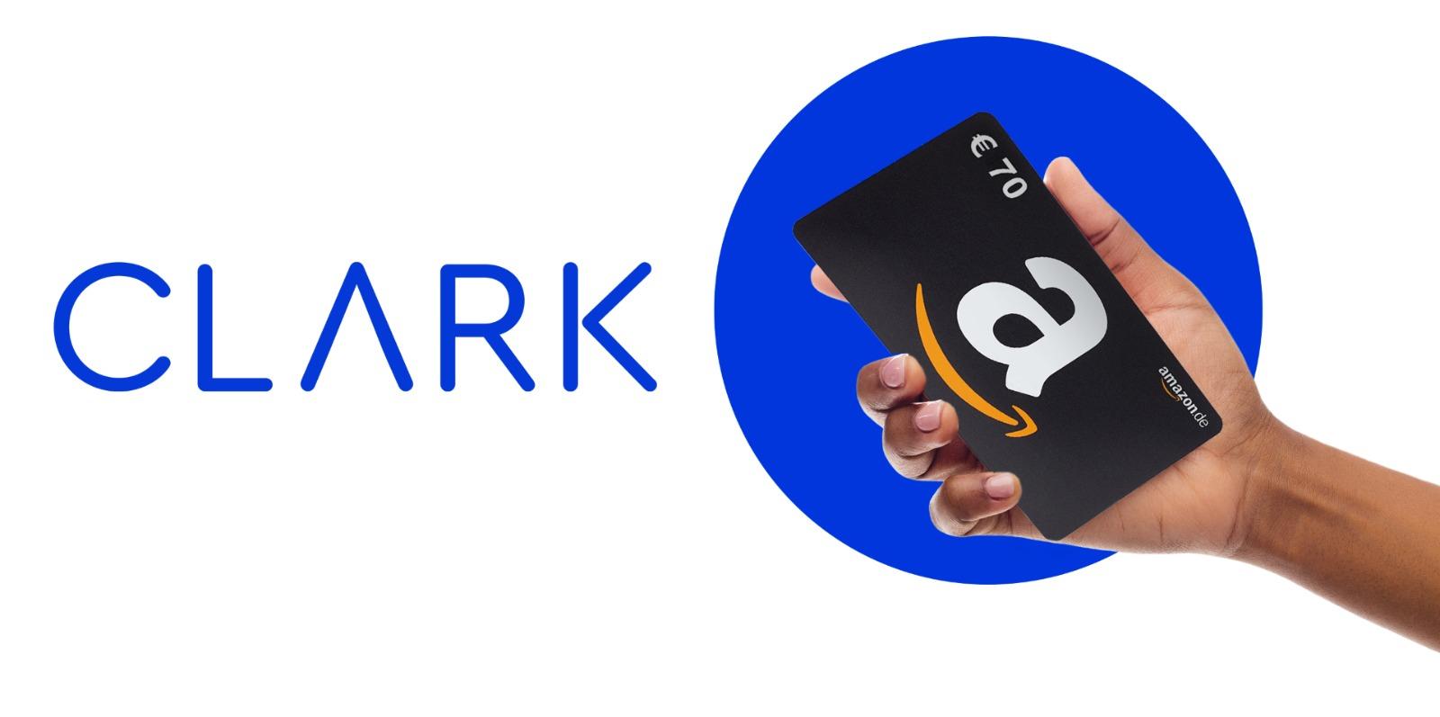Clark Versicherungsvergleich: 70 € Amazon Gutschein für 2 beliebige Versicherungen und Erteilung der Maklervollmacht für 12 Monate