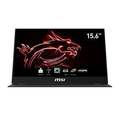 MSI Optix MAG161V-002 portabler IPS Monitor 40 cm (15,6 Zoll) 60Hz, FHD (1920x1080), schwarz