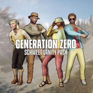 """Generation Zero® - Schweet Vanity Pack DLC"" gratis bis 5.1.21 (PS4 /Xbox One/ XBOX Series S
