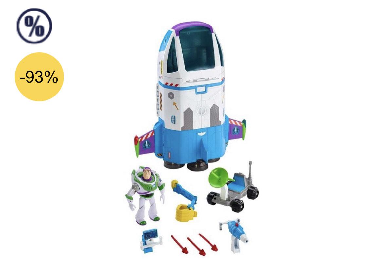 Preisfehler-Mattel GJB37 Buzz Lightyear Toy Story 4 Artikel, Mehrfarbig