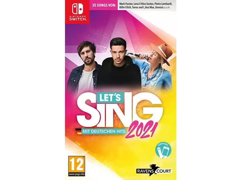 Nintendo Switch - Let's Sing 2021 mit deutschen Hits