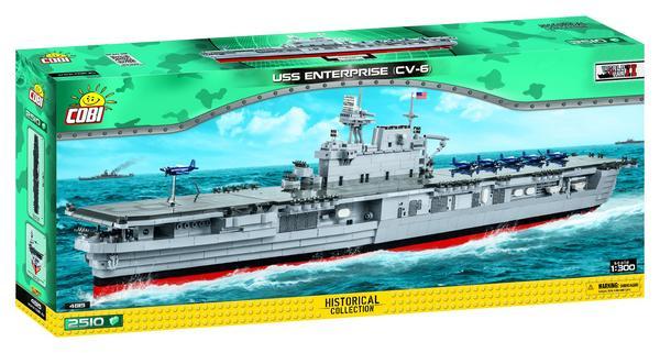 COBI Historical Collection - USS Enterprise CV-6, Flugzeugträger (4815)