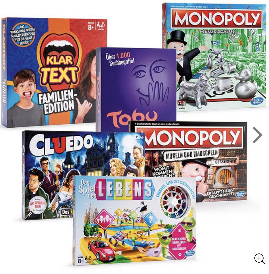 Hasbro Spiele bei Hofer