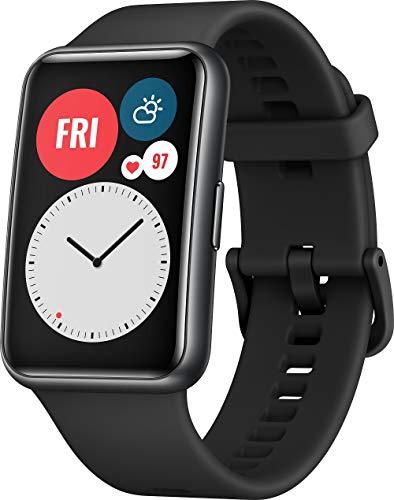 Huawei Watch Fit in Mintgrün oder Schwarz