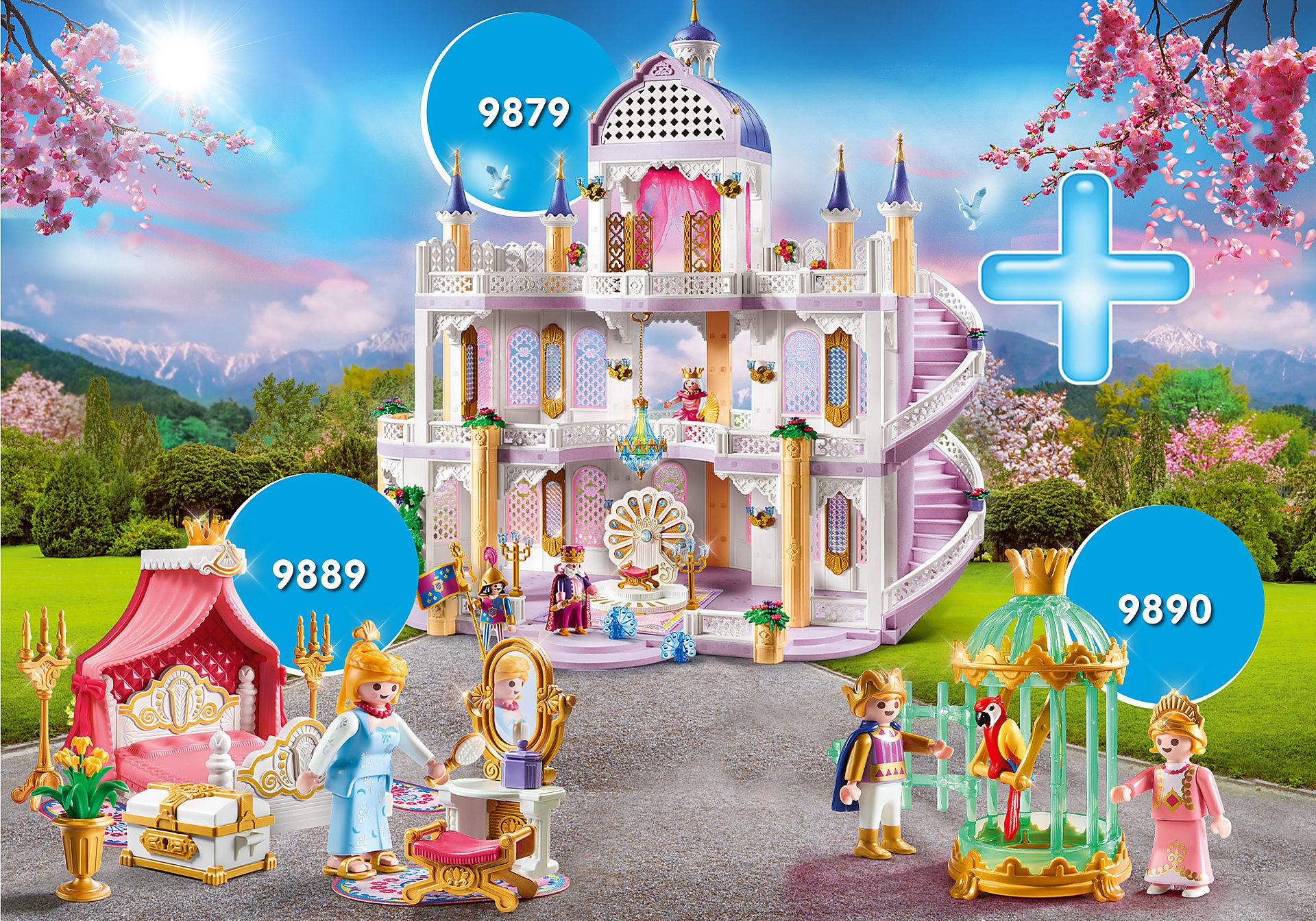 Playmobil Bundle Traumpalast mit Königskindern