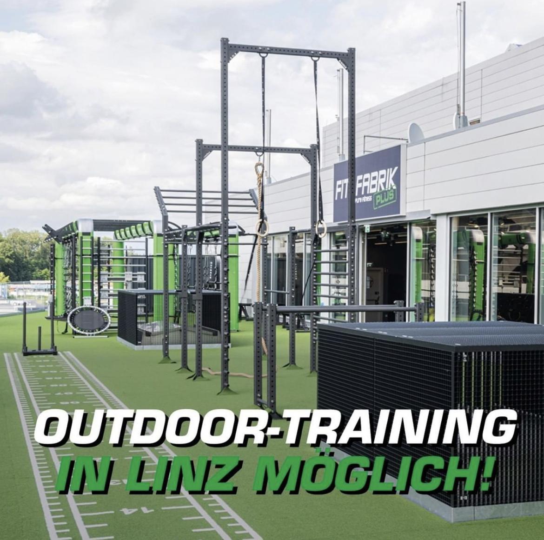 FitFabrik Linz - GRATIS Training im Outdoor Bereich - für ALLE