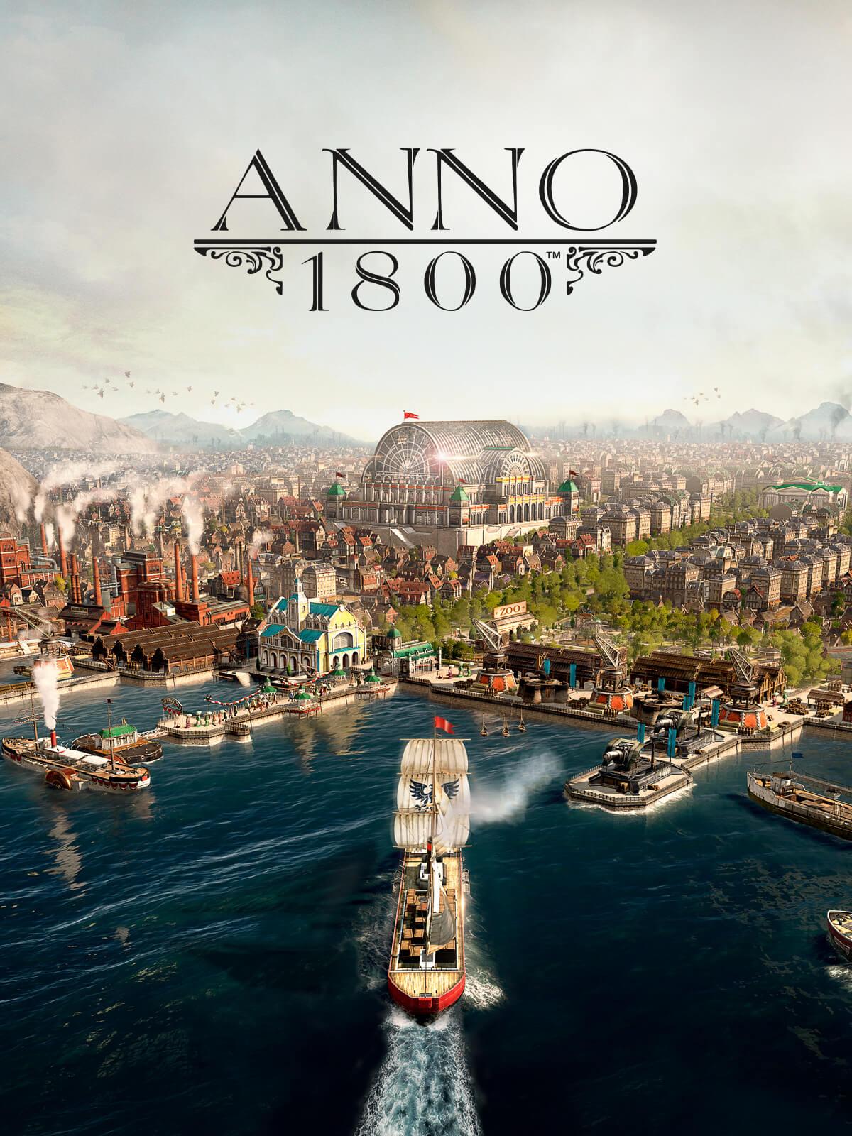 Anno 1800 um 9,79€ (Epic Games 10$ Gutschein)