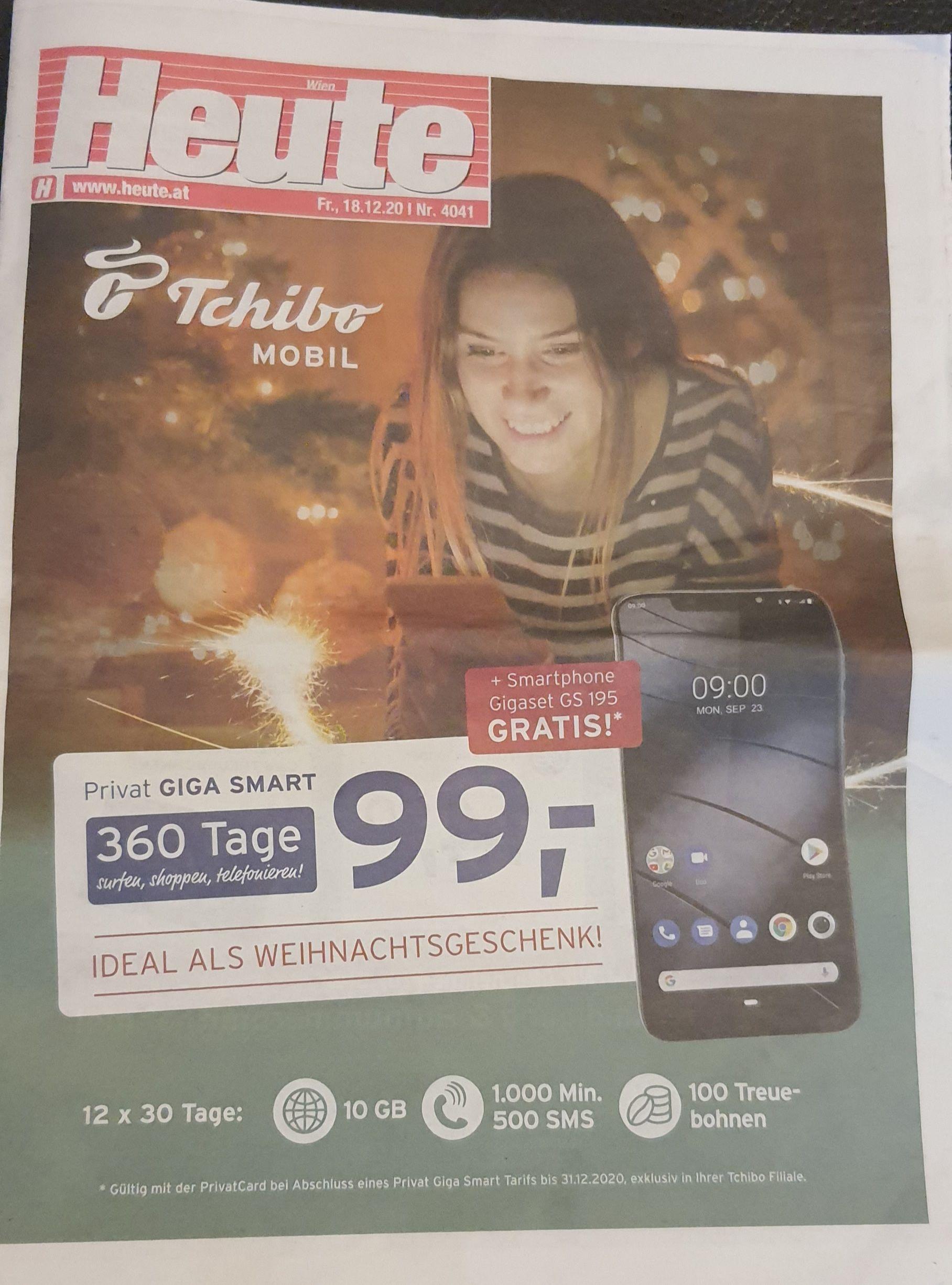 360 Tage telefonieren um 99€ + gratis Gigaset GS195