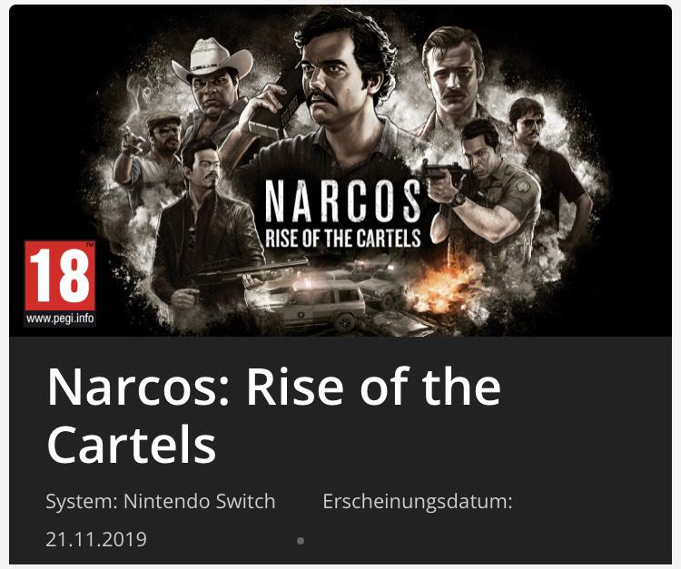 Narcos Switch e-shop download