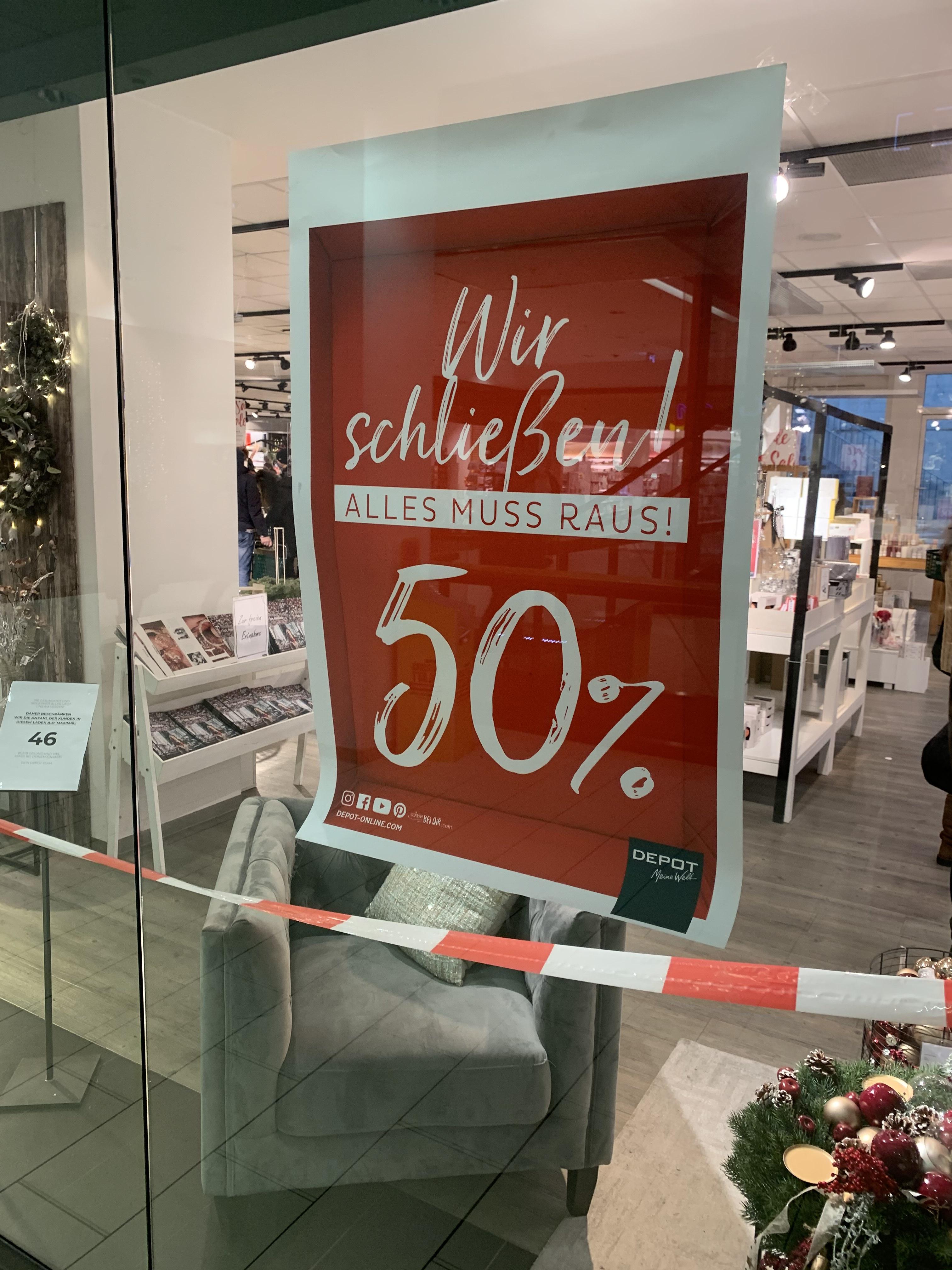 DEPOT -50%, 1030 Wien
