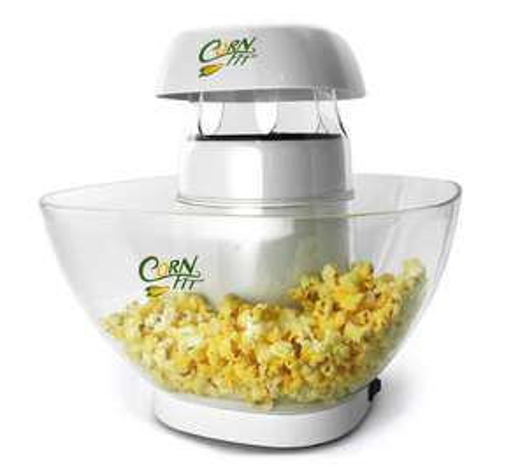 "Cornfit ""PM 1160"" Heißluft-Popcornmaker mit großer Abnehmbarer 4,5l Schüssel"