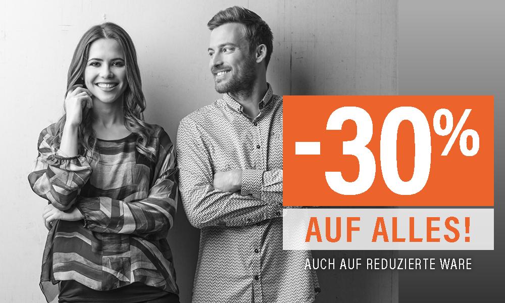 Fussl Modestraße -30% auf Alles
