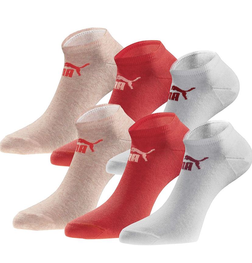 18 paar Puma Socken bei Amazon