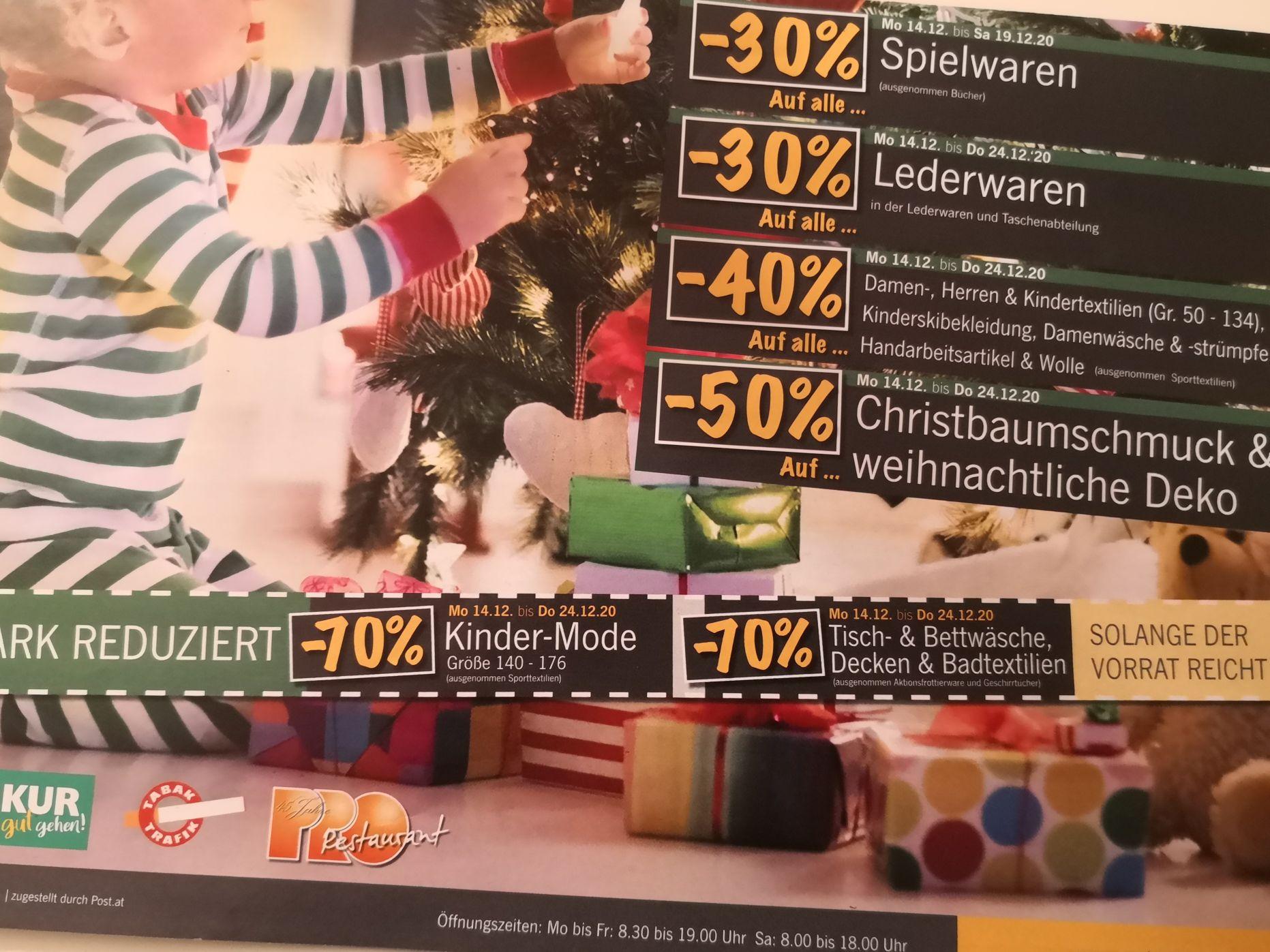 [Linz] Pro Kaufhaus - Räumungsverkauf?