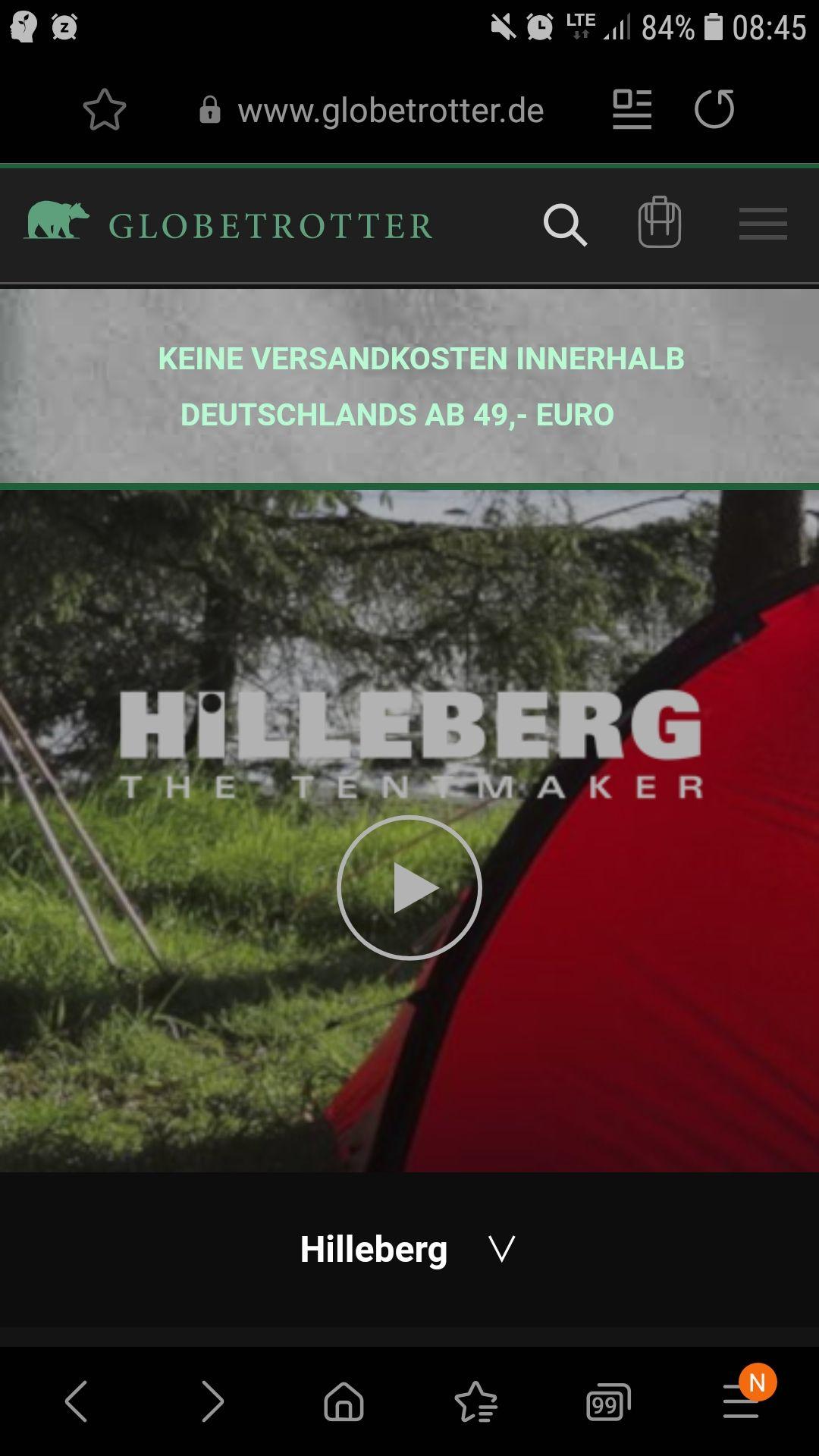 -20% auf Hilleberg