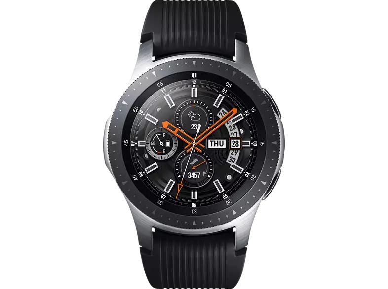 SAMSUNG Galaxy Watch R800 46mm Bluetooth, silber (SM-R800NZSAATO)
