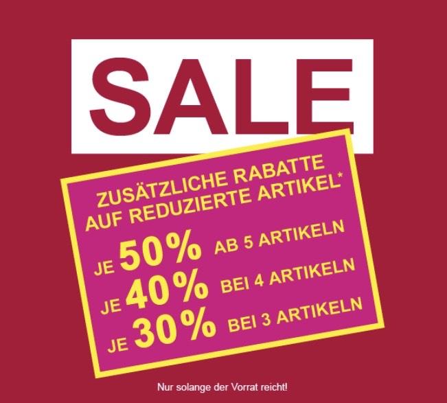 Takko bis zu -50% auf Sale