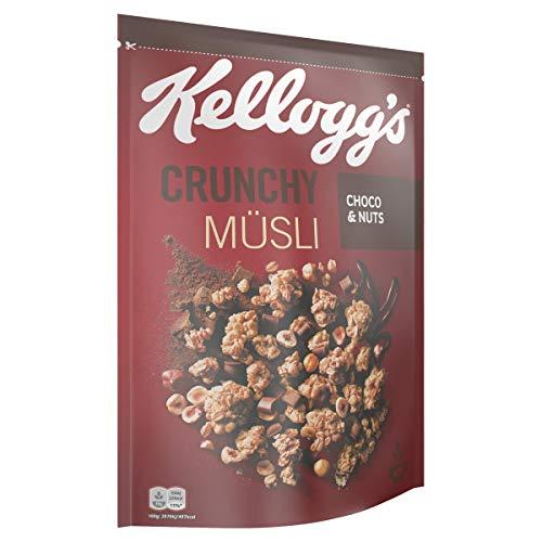 (4 Stück - Bestpreis) Kellogg's Crunchy Müsli Choco & Nuts