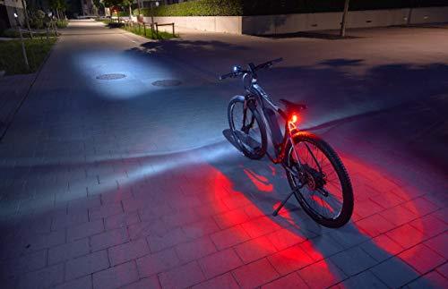 FISCHER LED Beleuchtungsset fürs Fahrrad