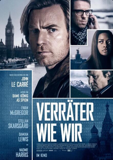 """""""Verräter wie wir"""" mit Ewan McGregor, """"Shoplifters"""" und """"Ein Gauner & Gentleman"""" mit Robert Redford als Stream aus der SRF Mediathek"""