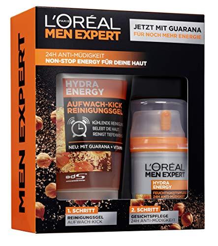 L'Oréal Men Expert Hydra Energy Geschenkset (Waschgel + Feuchtigkeitscreme)