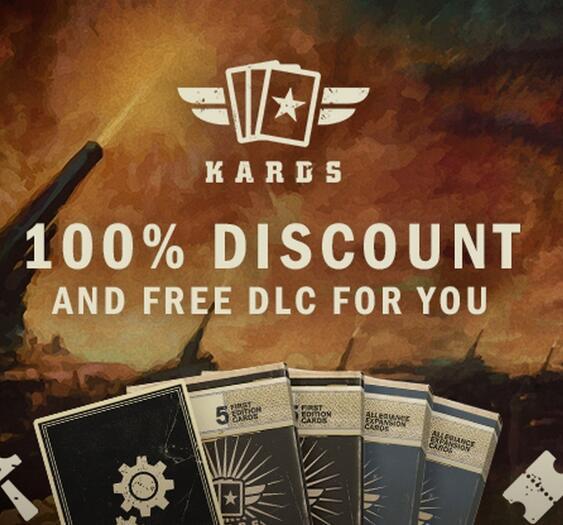 """""""KARDS - The WWII Card Game"""" und """"KARDS - Starter Pack DLC"""" gratis auf Steam"""