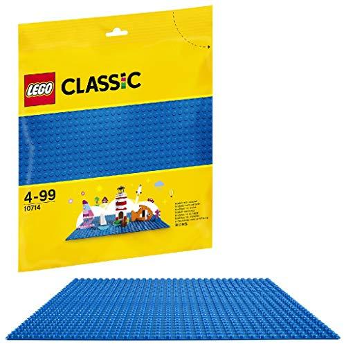 LEGO 10714 Classic Blaue Bauplatte, 25 cm x 25 cm