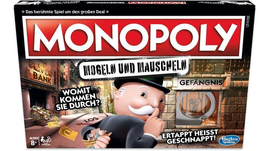 Monopoly Mogeln und Mauscheln & Monopoly Junior