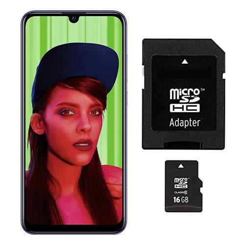 Huawei P smart+ 2019 Dual-Sim 64GB/3GB Starlight Blue + gratis 16 GB Speicherkarte